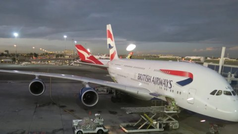 Review British Airways A380 Economy Jnb Lhr