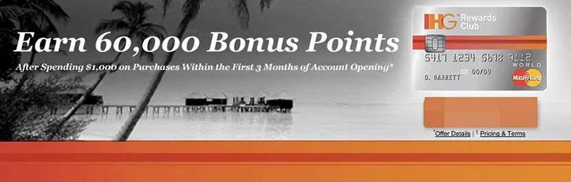 Not a cardholder yet? Stock up for the next round with a 60,000 point sign-up bonus.
