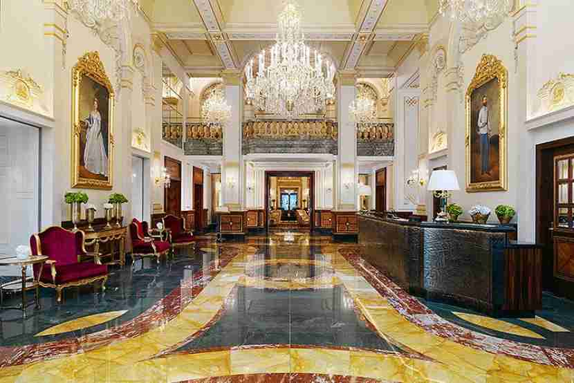 The Hotel Imperial in Vienna, Austria. Image courtesy of Starwood.