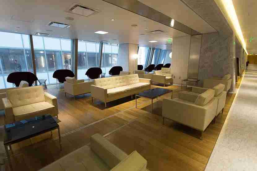As an American Airlines Executive Platinum elite traveling internationally, I was able to use the Qantas First lounge.