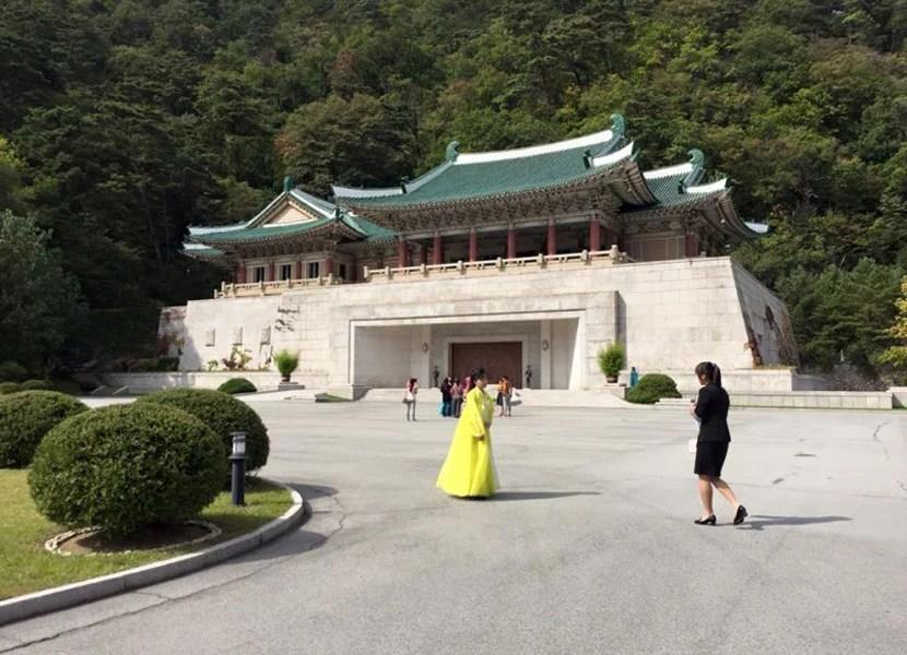International Friendship Exhibition Hall in North Korea.
