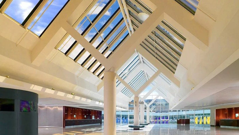The Sheraton Frankfurt Airport.