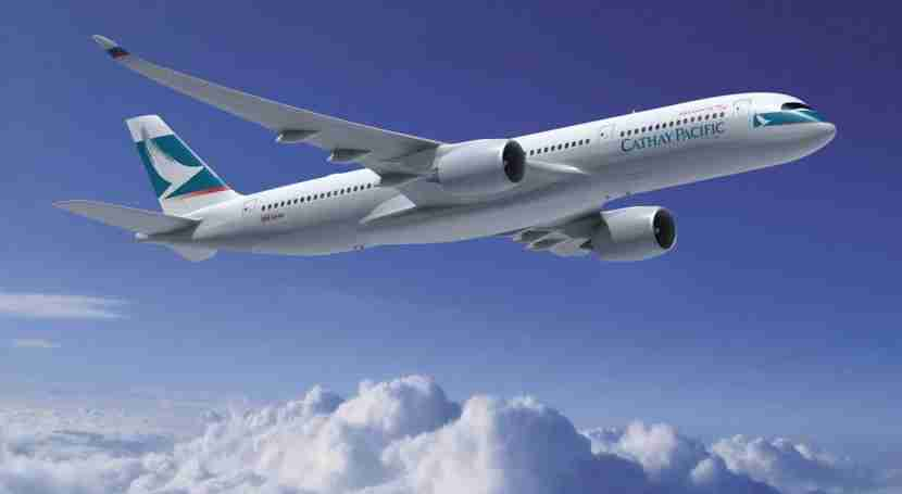 Cathay Pacific should be getting its first A350 next month. Image courtesy of Airbus.