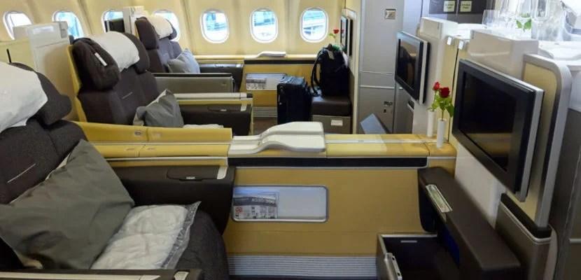 lufthansa a330 first class featured