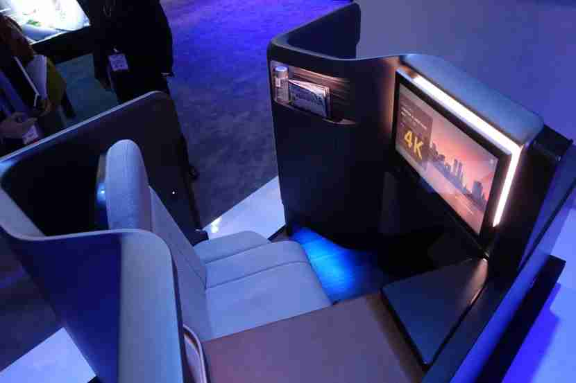 Panasonic Waterfront Business Class Seat
