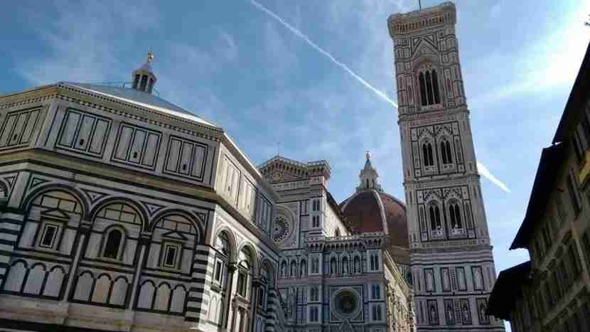 The Duomo looms over the history of Florence. Image courtesy of the author.