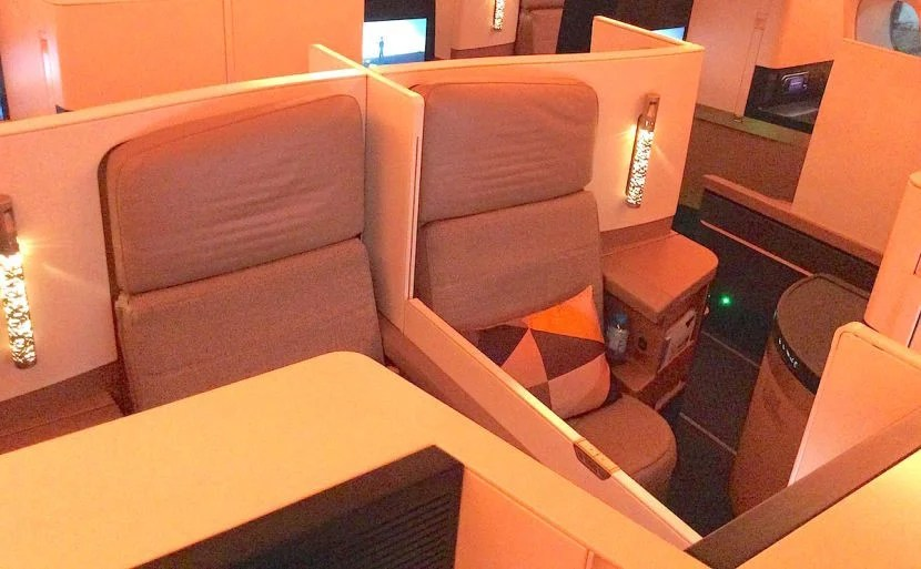 Another shot of the middle seats. These ones are good for couples.