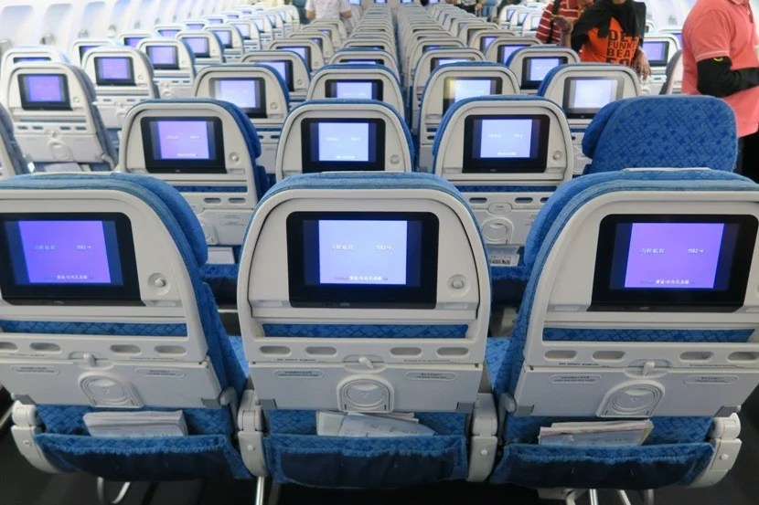 The IFE systems were an excellent source of entertainment for seemingly all genres.