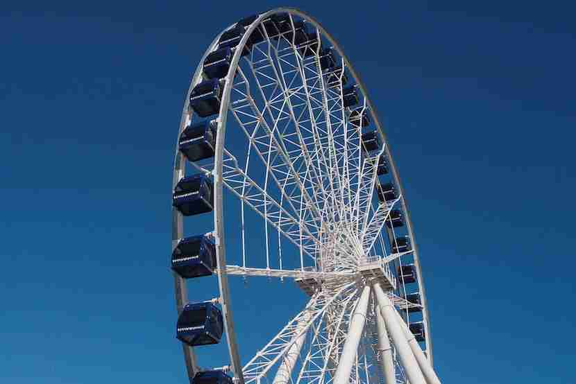 Navy Pier Ferris Wheel. Image courtesy of Navy Pier.