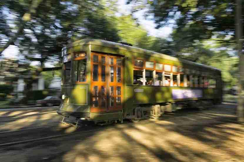 A Louisiana cable car.