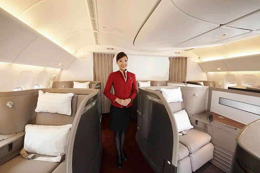 AAdvantage miles are no longer a good option for Cathay Pacific first-class awards to Asia.