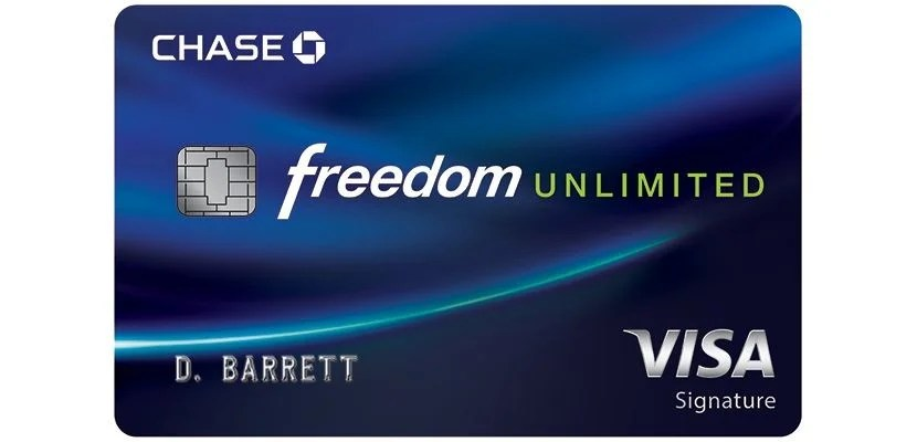 Chase introduced its new Unlimited version of the Freedom card back in March.