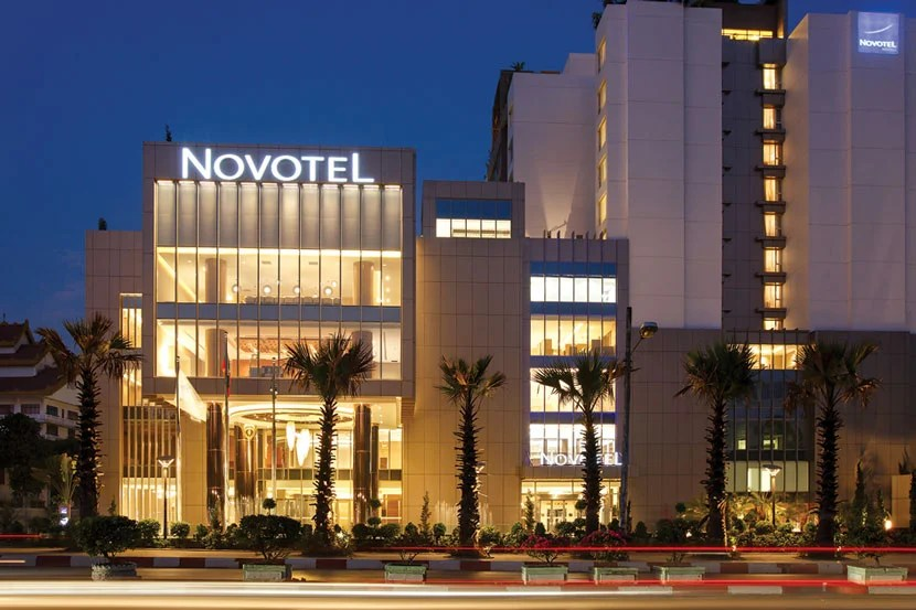 Novotel in Yangon, Myanmar. Image courtesy of the hotel.