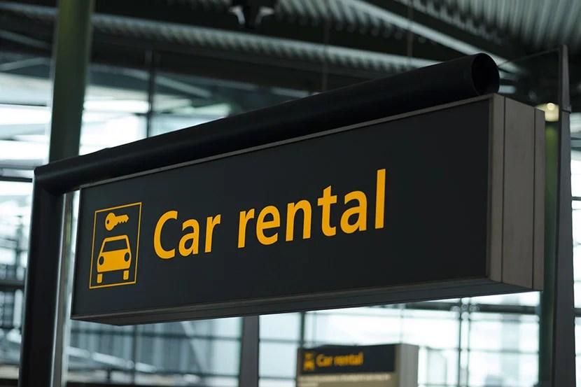 Citi Card Car Rentals