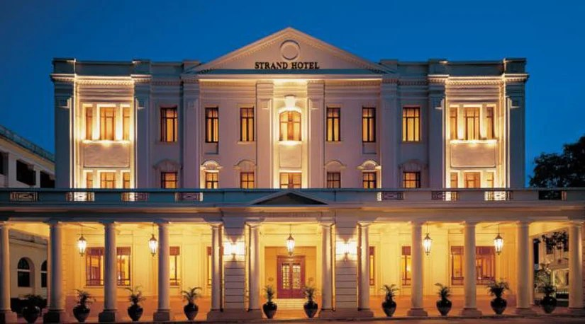 The Strand in Yangon, Myanmar. Image courtesy of the hotel.