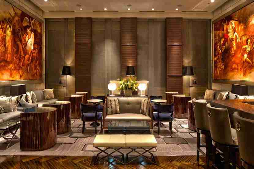 The lobby of the St. Regis San Francisco. Image courtesy of the hotel.