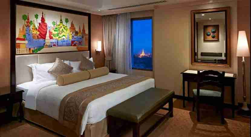 Sule Shangri-La in Yangon, Myanmar. Image courtesy of the hotel.