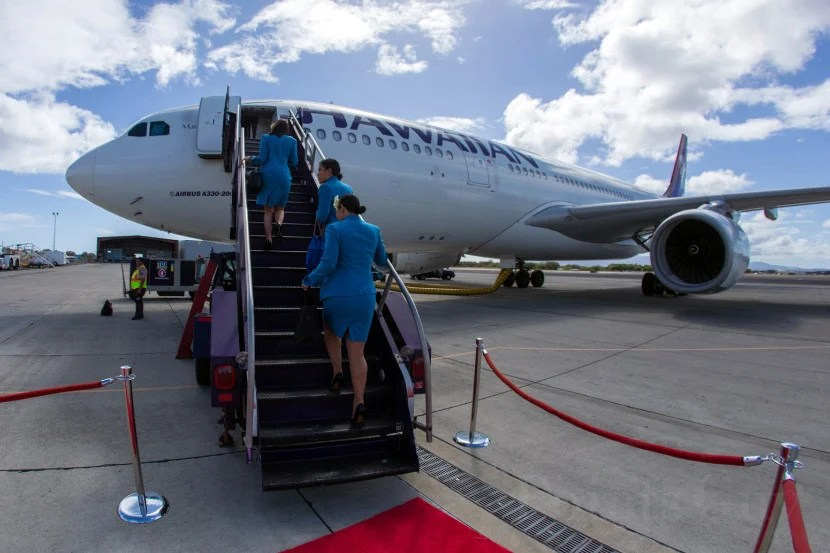 Hawaiian Air's recently refreshed A330.