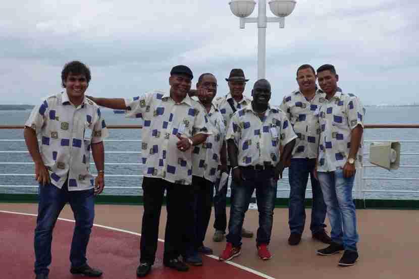 Cuban band from Cienfuegos to Santiago de Cuba.