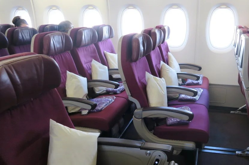 The armrests were positioned at a comfortable height on this A380.