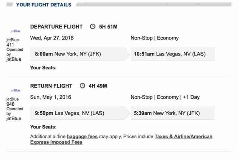 I booked the round-trip flight and hotel together to save about $330. Here