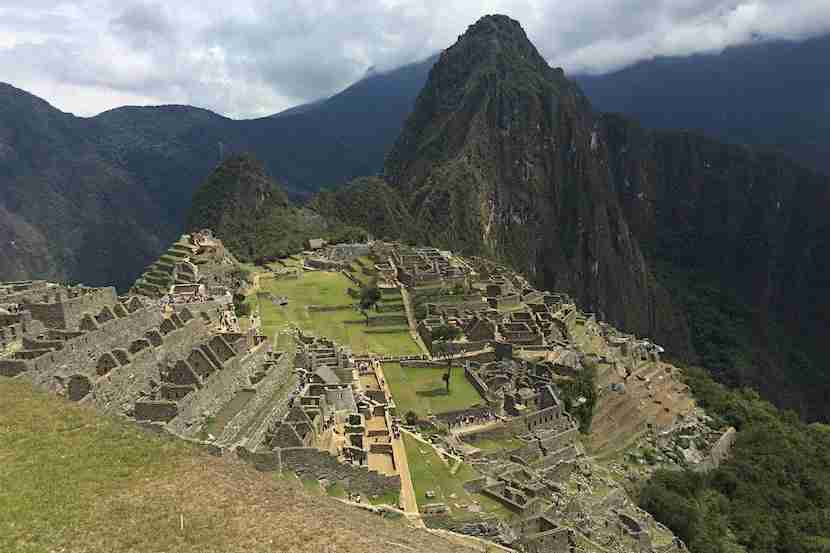 The legendary lost city of the Incas.
