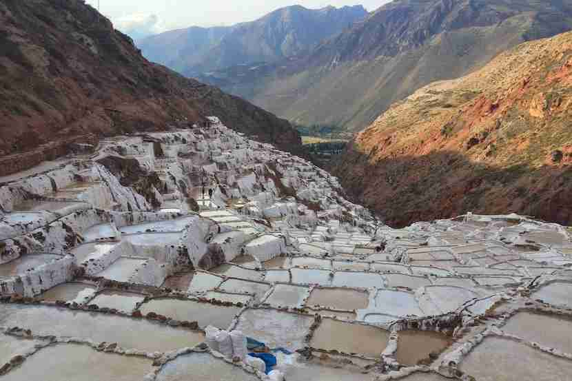 The spectacular Maras salt mines. Image courtesy of the author.