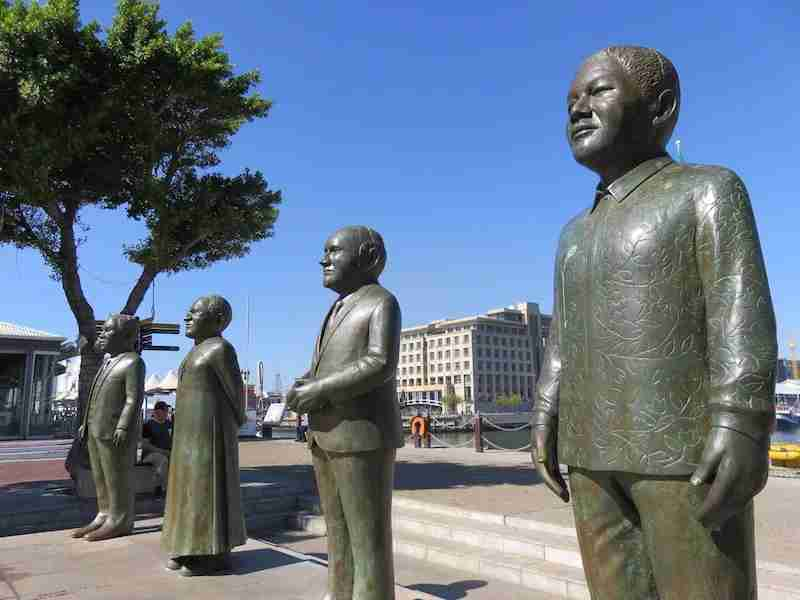 Wander the Victoria & Albert Waterfront for local sights, shopping, and to catch the Robben Island ferry. And don't miss a photo opp with South Africa's four Nobel Prize winners.