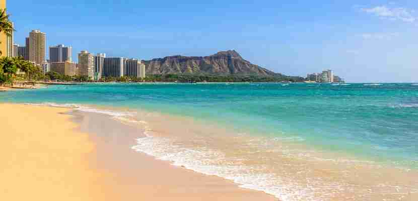 Waikiki Beach has your name on it. Fly there from Los Angeles on Virgin Atlantic.