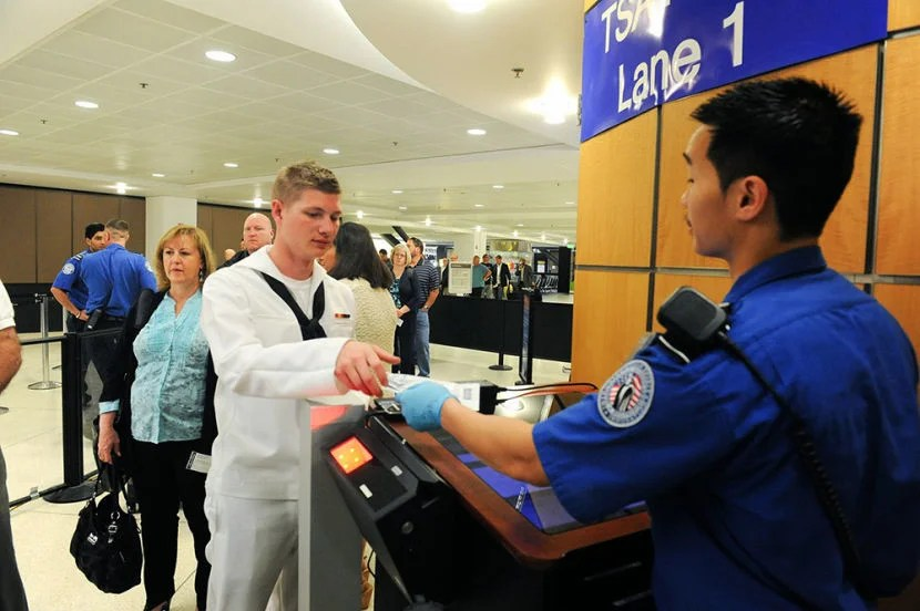 Although TSA agents may not be the friendliest, it can't hurt to be nice in return.