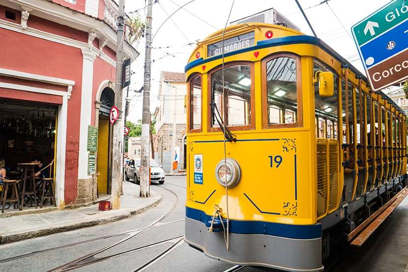 Step onto Santa Teresa's Bonde, step off into one of Rio's most charming neighborhoods.