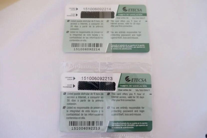 internet cards in cuba - Cuba Calling Card