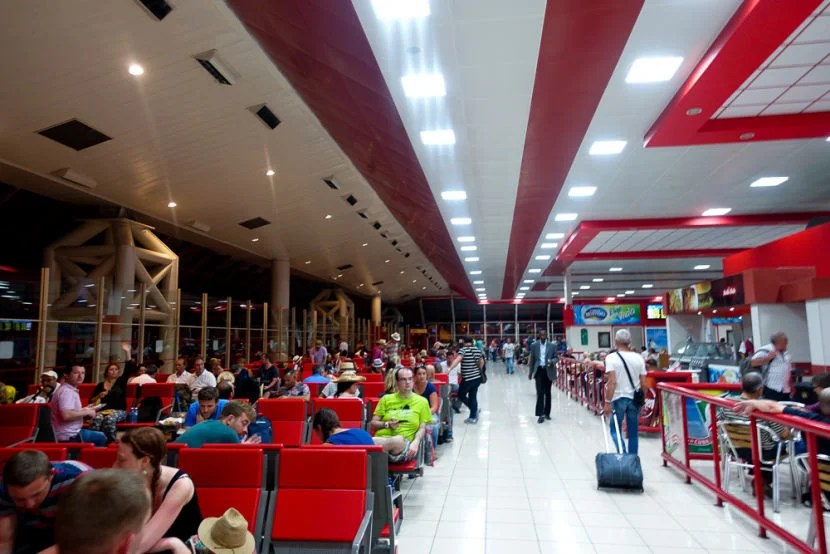 Airports in Cuba may not have the most updated facilities.