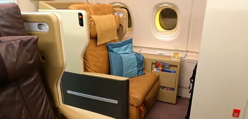 Singapore Airlines' business class is a great place to spend 21 hours.