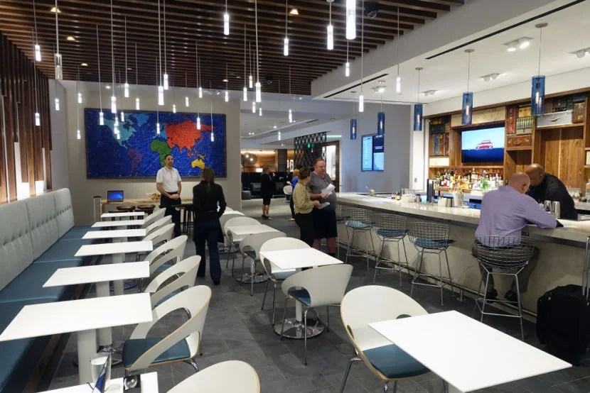 Amex Platinum authorized users have access to a lot of airport lounges, including the new IAH Centurion Lounge.