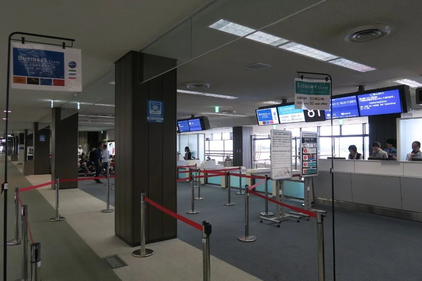 As is normal for JAL, boarding was completed in four orderly phases.