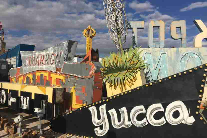 There are more than 200 signs on display at The Neon Museum.
