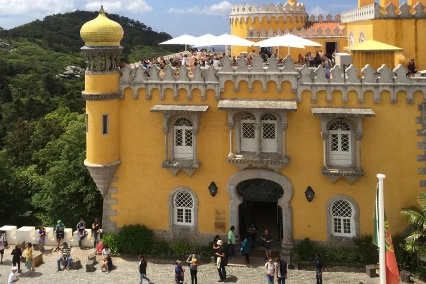 Sintra's Palácio da Pena is a photographer's dream.