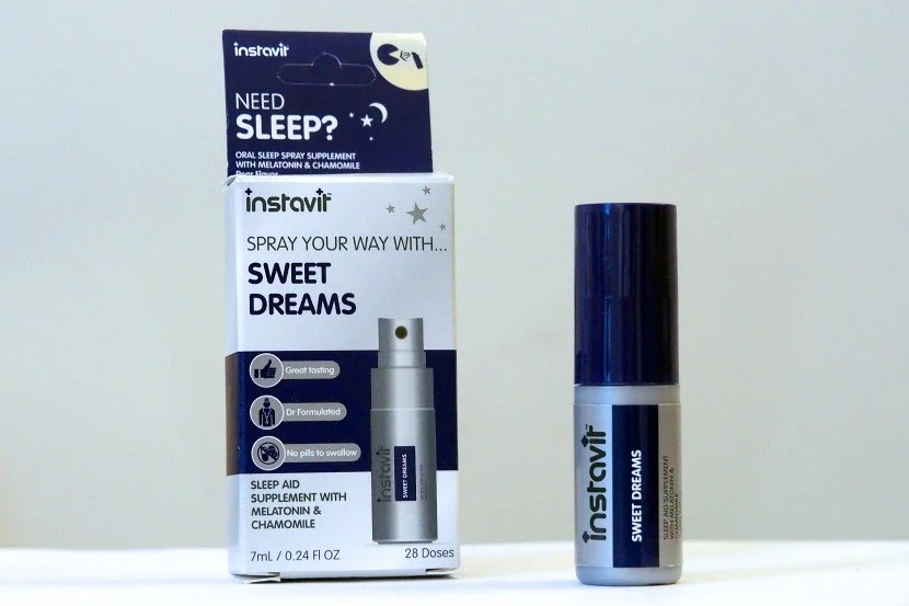 Instavit's Sweet Dreams spray is available for $15.99.