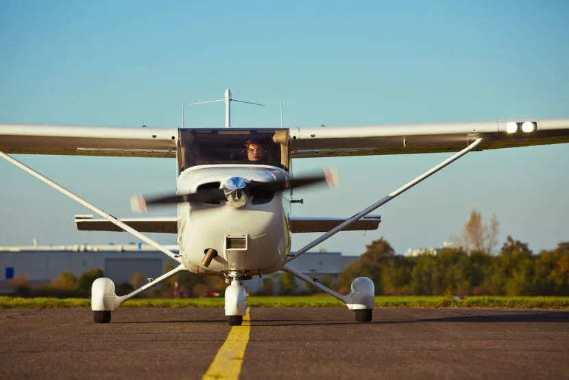 "Conflict of interest rules prevent us from flying professionally on the side but some of us maintain a pilot's license and fly for fun in our spare time. Image courtesy of <a href=""http://www.shutterstock.com/pic-225447799/stock-photo-young-pilot-is-preparing-for-take-off-with-private-plane.html?src=EgDDQYM4ILxTQRkAk0IJ9Q-1-9"" target=""_blank"">Shutterstock</a>."