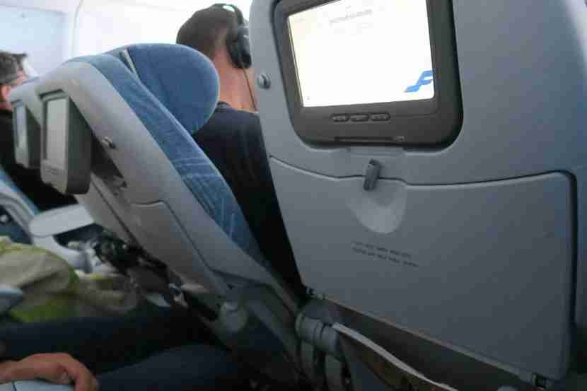The allowable recline on the seats was substantial. Whether this is good or bad depends on whether you