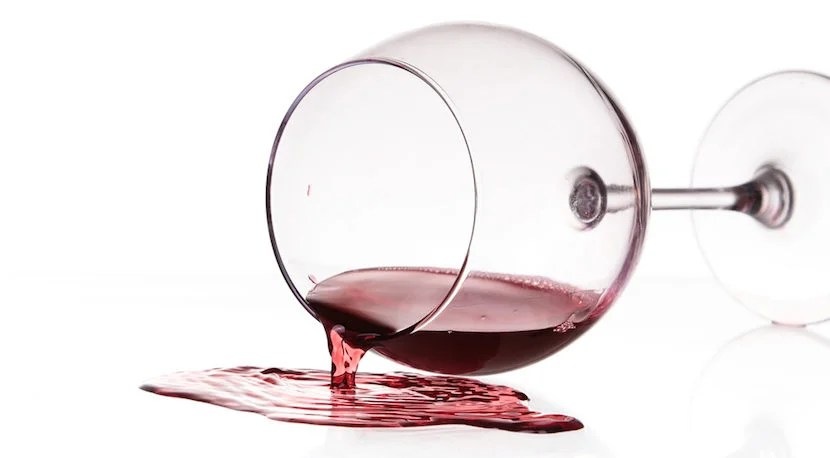 Spilled wine due to turbulence doesn't entitle you to 10,000 miles. Image courtesy of Shutterstock.