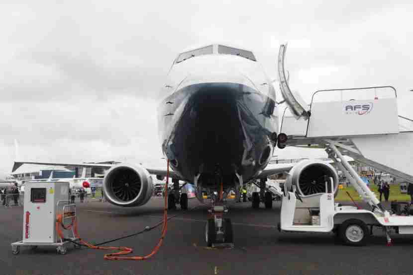 boeing 737 max farnborough