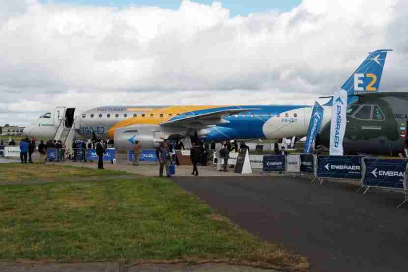 Embraer E2 Farnborough