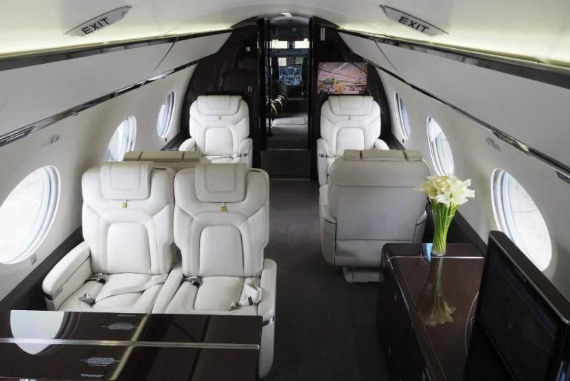 Gulfstream G650 Farnborough