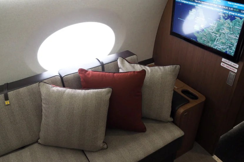 Qatar Gulfstream G650 Farnborough