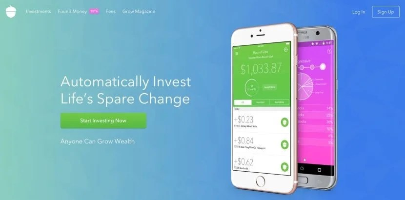 Acorns is a new way to invest by tracking your spending and rounding up your purchase amounts.