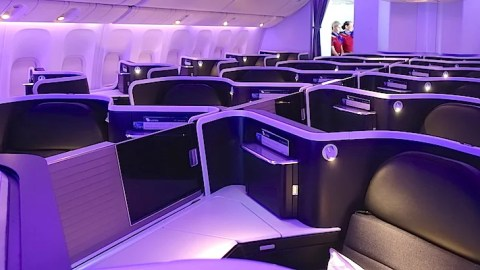 Virgin Australia 777 Map.Take A Look Inside Virgin Australia S New 777 Business Class