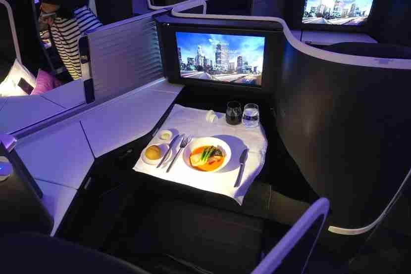 A sample menu item by Virgin Australia