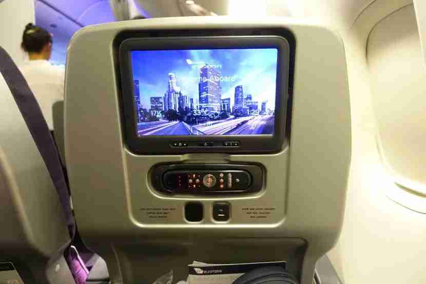 Premium economy screens are just 10.6 inches.